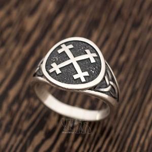 Кольцо Крест Мары